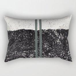 Stone and Splatter Rectangular Pillow