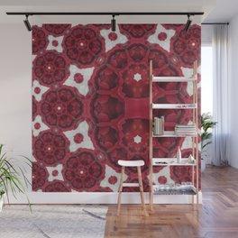 In Between Rose Mandala 1 Wall Mural
