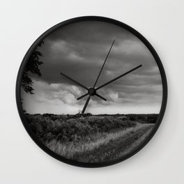 Midwest Storm Wall Clock