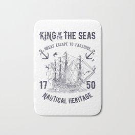 King of the seas Bath Mat