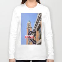 cleveland Long Sleeve T-shirts featuring Cleveland West Side Market by TiffanyOneillPhotography