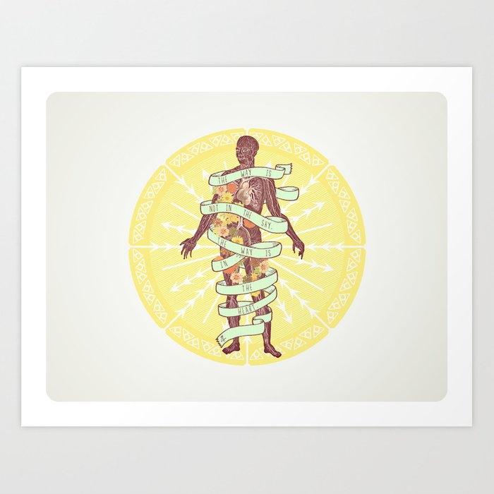 Polarities. Art Print