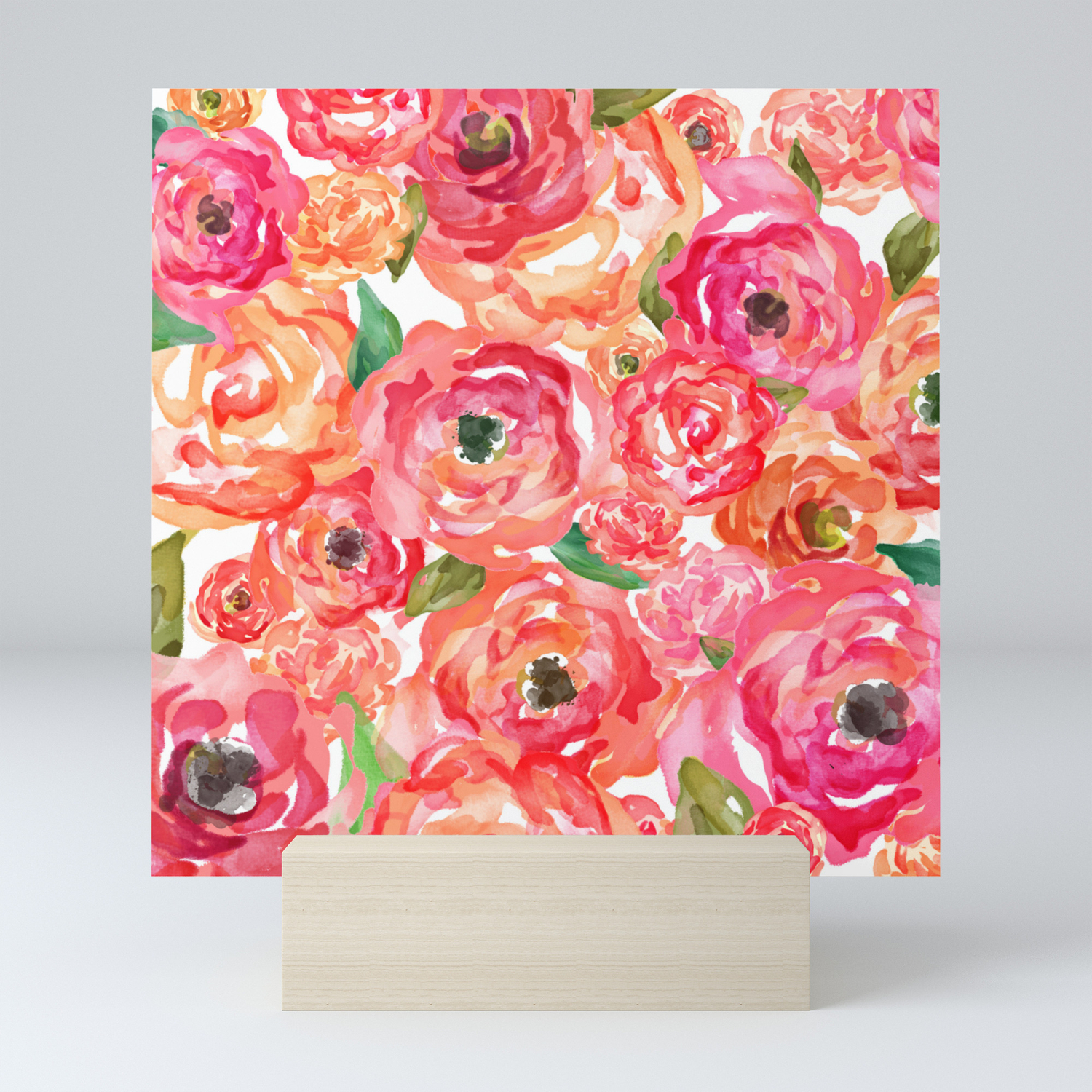 Bed Of Roses Mini Art Print By Allisonreich Society6