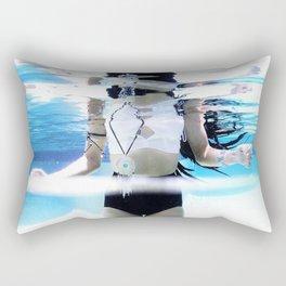 UNDERWATER STILLNESS Rectangular Pillow
