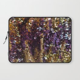PURPLE AND GOLD Laptop Sleeve