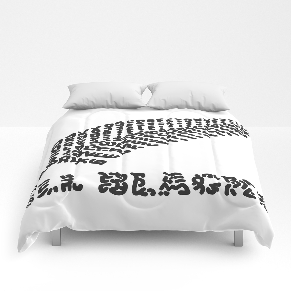 """""""""""all Blacks"""""""" Rugby Team New Zealand Comforter by Carolinebessieres64"""" CMF8976157"""