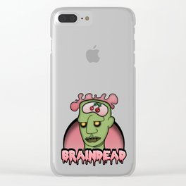 Brain Dead Clear iPhone Case