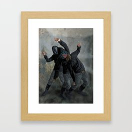 String Theory: Collapsing Wavefunction, Tenth Tangible Framed Art Print
