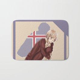 Aph Iceland Illustration Bath Mat