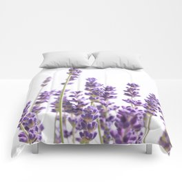 Purple Lavender #1 #decor #art #society6 Comforters