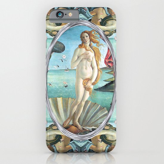 The Birth of Venus (If Botticelli would have had an i-phone!) iPhone & iPod Case