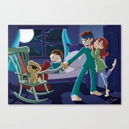 How'd You Meet Mom? Canvas Print