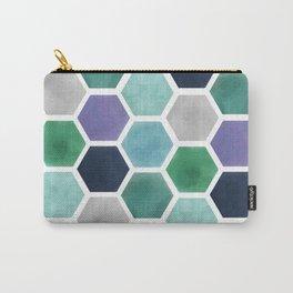 Purple Diamond Carry-All Pouch