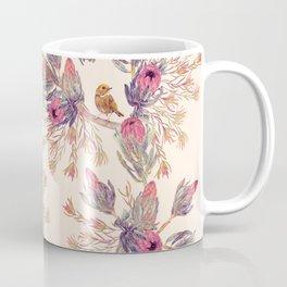 Wild Bloom - pink & cream Coffee Mug