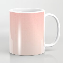 Coral ombre trendy girly trend college life dorm decor office minimalism Coffee Mug