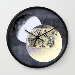 Kepler and his machinations Wall Clock