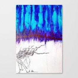 It Tore Through Us Canvas Print