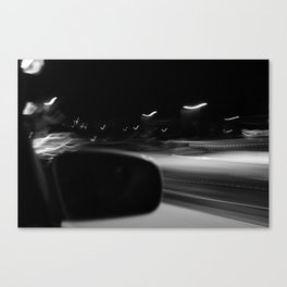 LIGHTS BIRDS Canvas Print