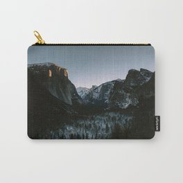 Yosemite Valley Sunrise Carry-All Pouch