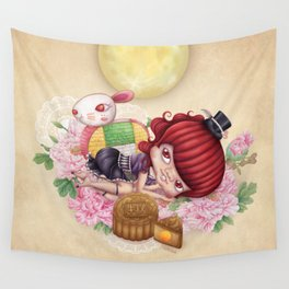 Rabbit Tooth Moon Festival Wall Tapestry