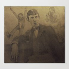 Aubrey and Beardsley Canvas Print
