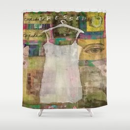 Dressing for Myself Shower Curtain