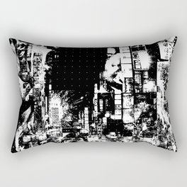 Nightlife - The beast is her guardian angel Rectangular Pillow