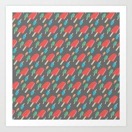 Paletas Pattern 2 Art Print