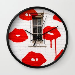 Nashville Street Art Wall Clock