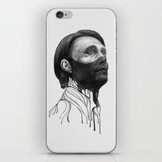 Hannibal Lecter iPhone Skin