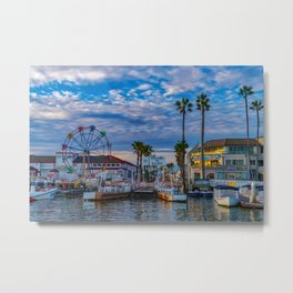 Balboa Ferry Landing Metal Print
