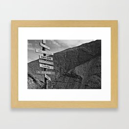 Lead The Way Framed Art Print