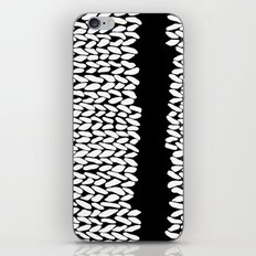 Missing Knit On Side iPhone & iPod Skin