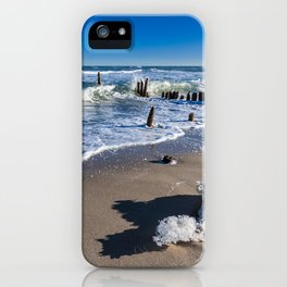 Baltic Sea coast iPhone Case