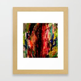 la porte Framed Art Print