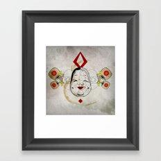 J_mask Framed Art Print