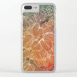 spectrum garden Clear iPhone Case