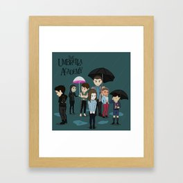 The Umbrella Academy Framed Art Print