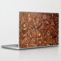 constellations Laptop & iPad Skins featuring constellations by rysunki-malunki