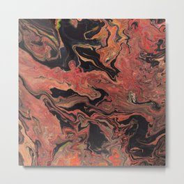 Abstract Oil Painting 8 Metal Print