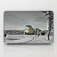 t rex iPad Cases featuring T Rex by sepulveda89