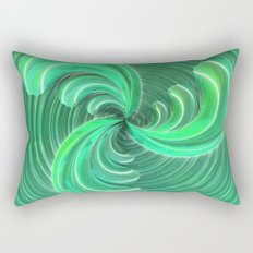 Verde Glass Bow Rectangular Pillow