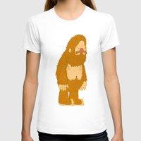 bigfoot T-shirts featuring bigfoot by gal shkedi