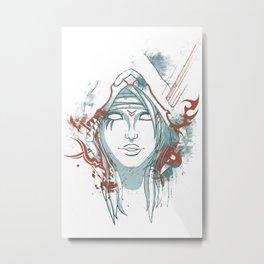 Assasin Hunter Metal Print