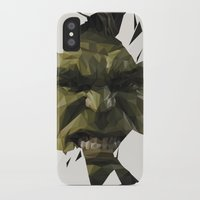 hulk iPhone & iPod Cases featuring Hulk by s2lart