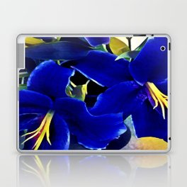Blue Lilies Laptop & iPad Skin