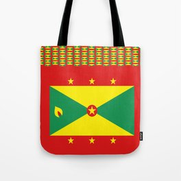 Grenada Flag Duvet Tote Bag