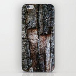 Tree Bark close up iPhone Skin
