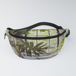Plant in the Window, Summer Day Fanny Pack