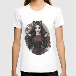 Gothic Catwoman T-shirt